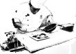 cuisinier à ses casseroles
