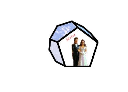 couple derrière la facette statut
